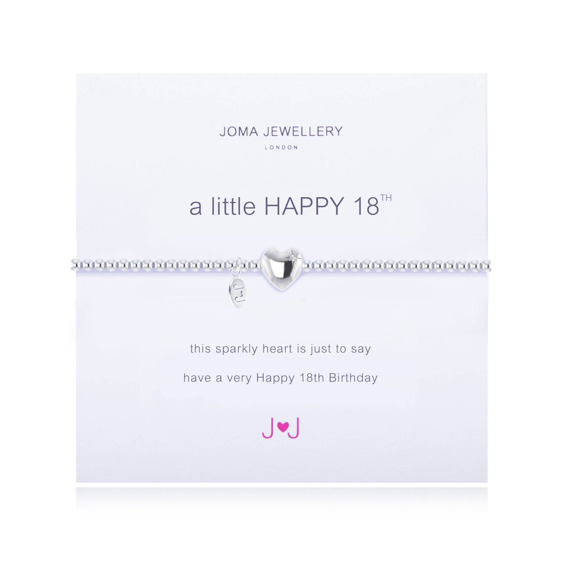 Joma Jewellery A Little happy 18th Birthday Bracelet