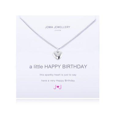 Joma Jewellery A Little Happy Birthday Necklace