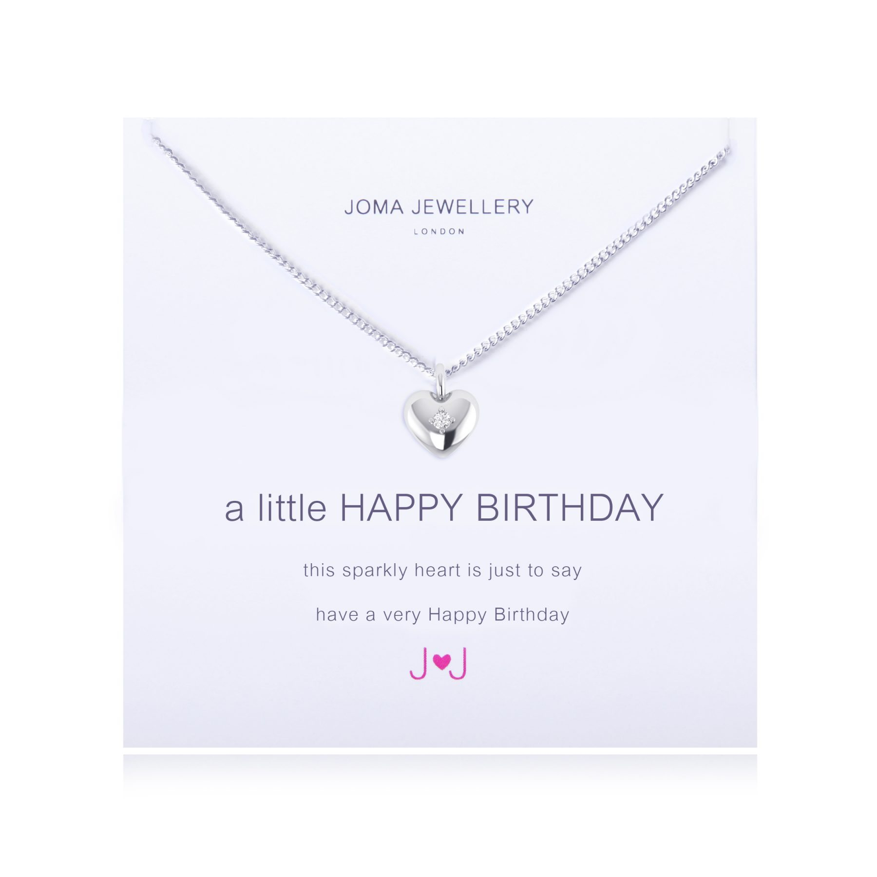 Joma Jewellery A Little Happy Birthday Necklace