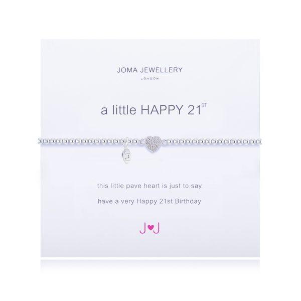 Joma Jewellery A Little Happy 21st Birthday