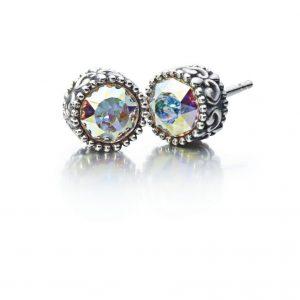 Chamilia Princess Earring-Crystal Auora Boreale Swarovski