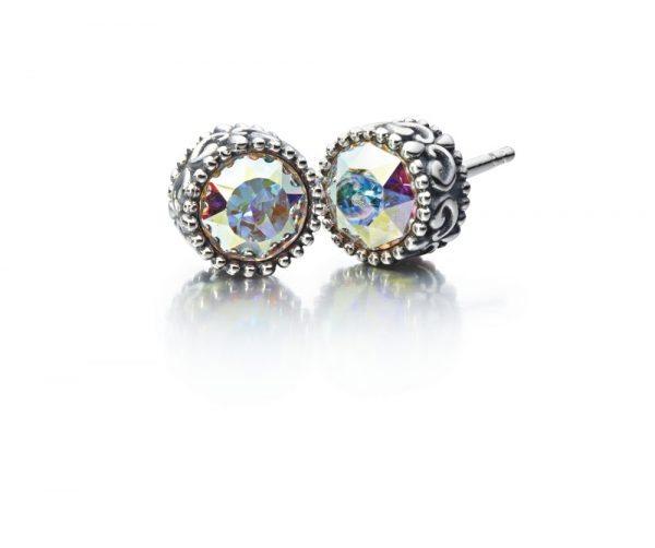 Chamilia Princess Earring-Crystal Auora Boreale Swarovski1311-0022
