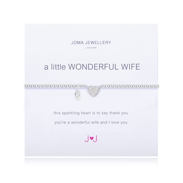 Joma Jewellery A Little Wonderful Wife Bracelet