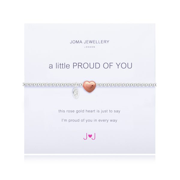 Joma Jewellery – A Little Proud Of You – Bracelet – Silver and Rose Gold