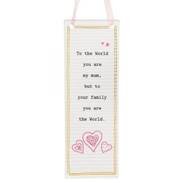 Thoughtful Words Mother's Day Rectangle Plaque Mum