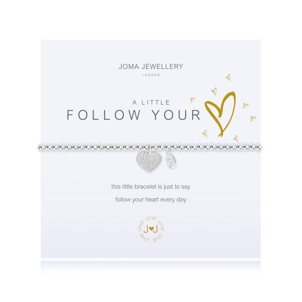 Joma Jewellery  A Little's Follow Your Heart Bracelet