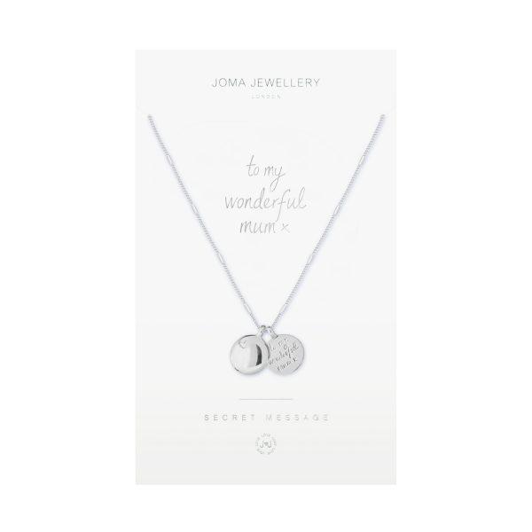Secret Message Necklace-My Wonderful Mum
