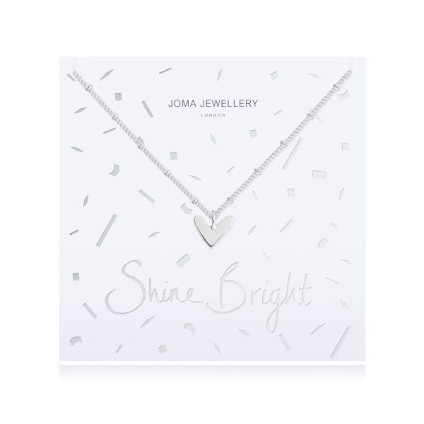 Joma Jewellery Shine Bright Heart Necklace