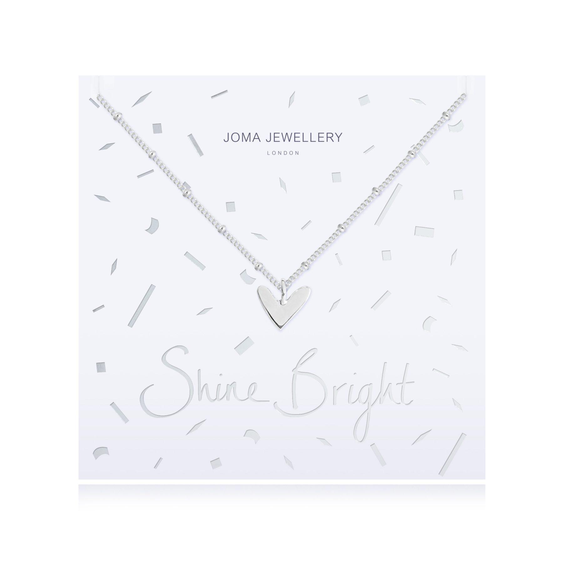 Joma Jewellery Shine Bright Heart Necklace