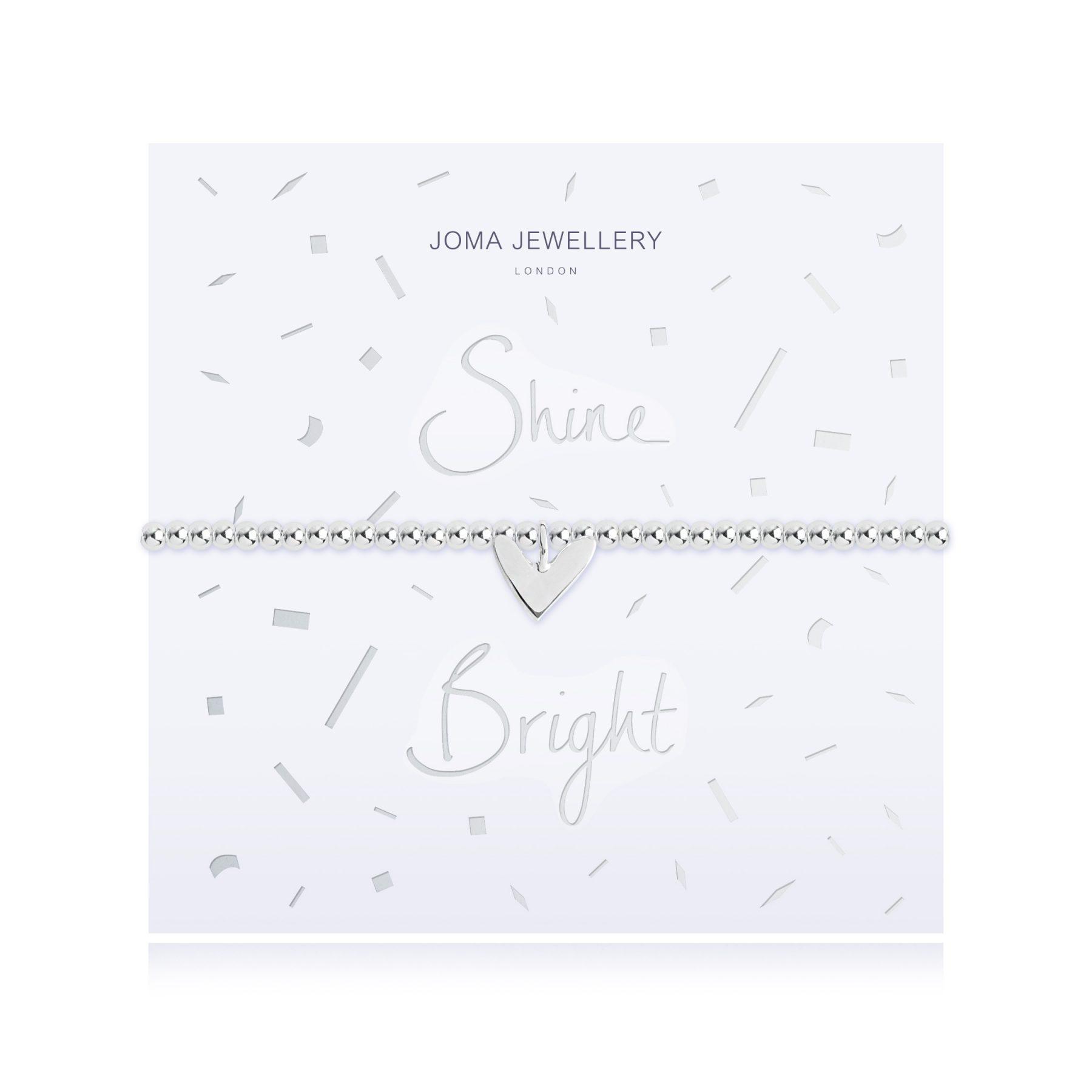 Joma Jewellery Shine Bright Heart Bracelet