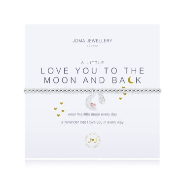 Joma Jewellery A Little Love You To The Moon & Back Bracelet