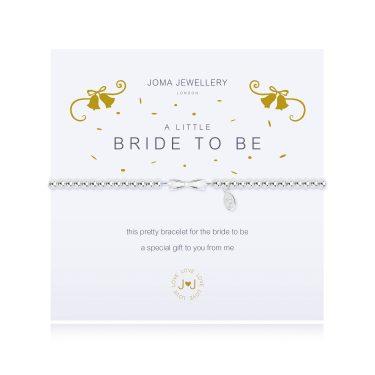 "Joma Jewellery A Little ""Bride to Be"" Bracelet"