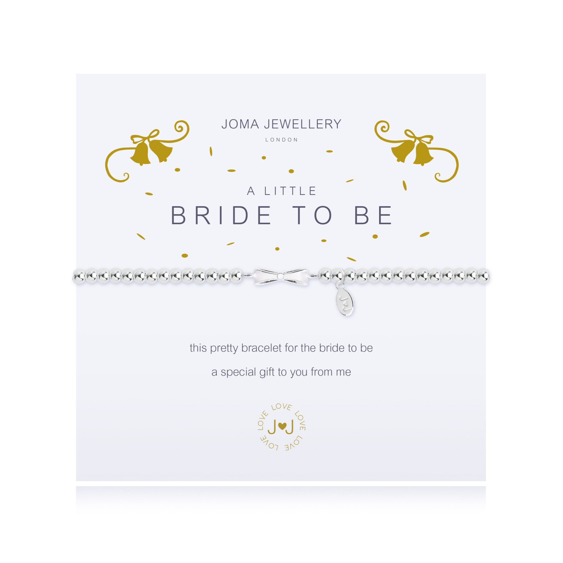 "Joma Jewellery A Little ""Bride to Be"" Bracelet"