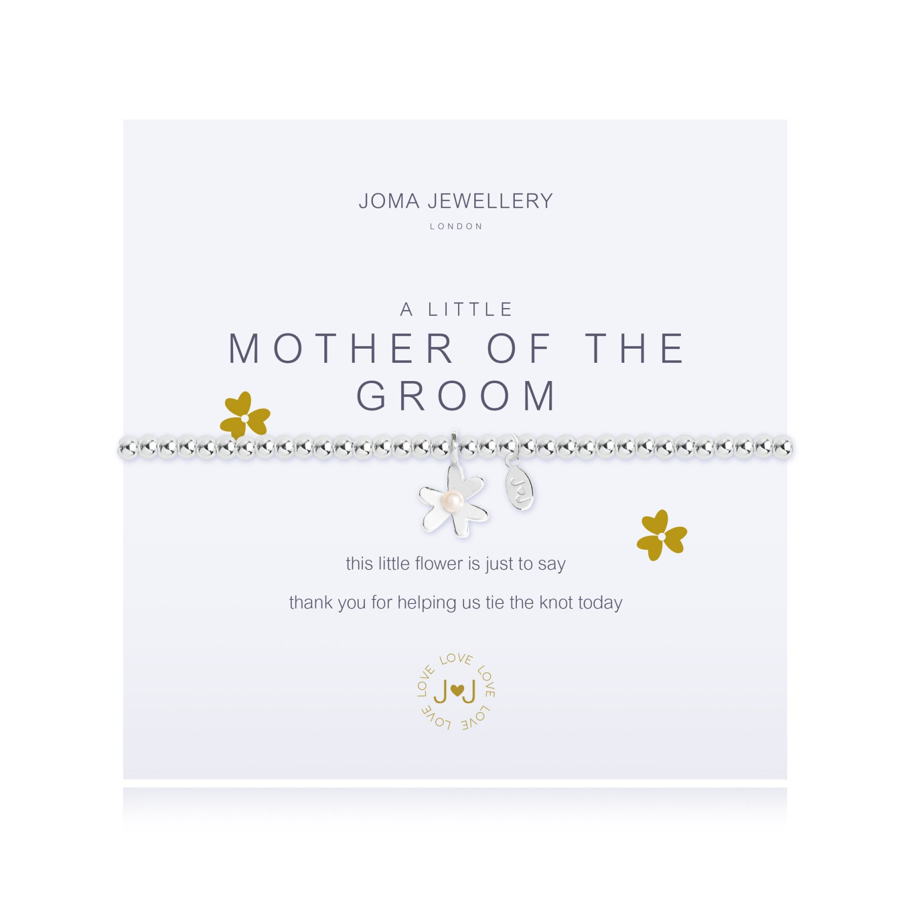 Joma Jewellery A Little Mother of The Groom Bracelet
