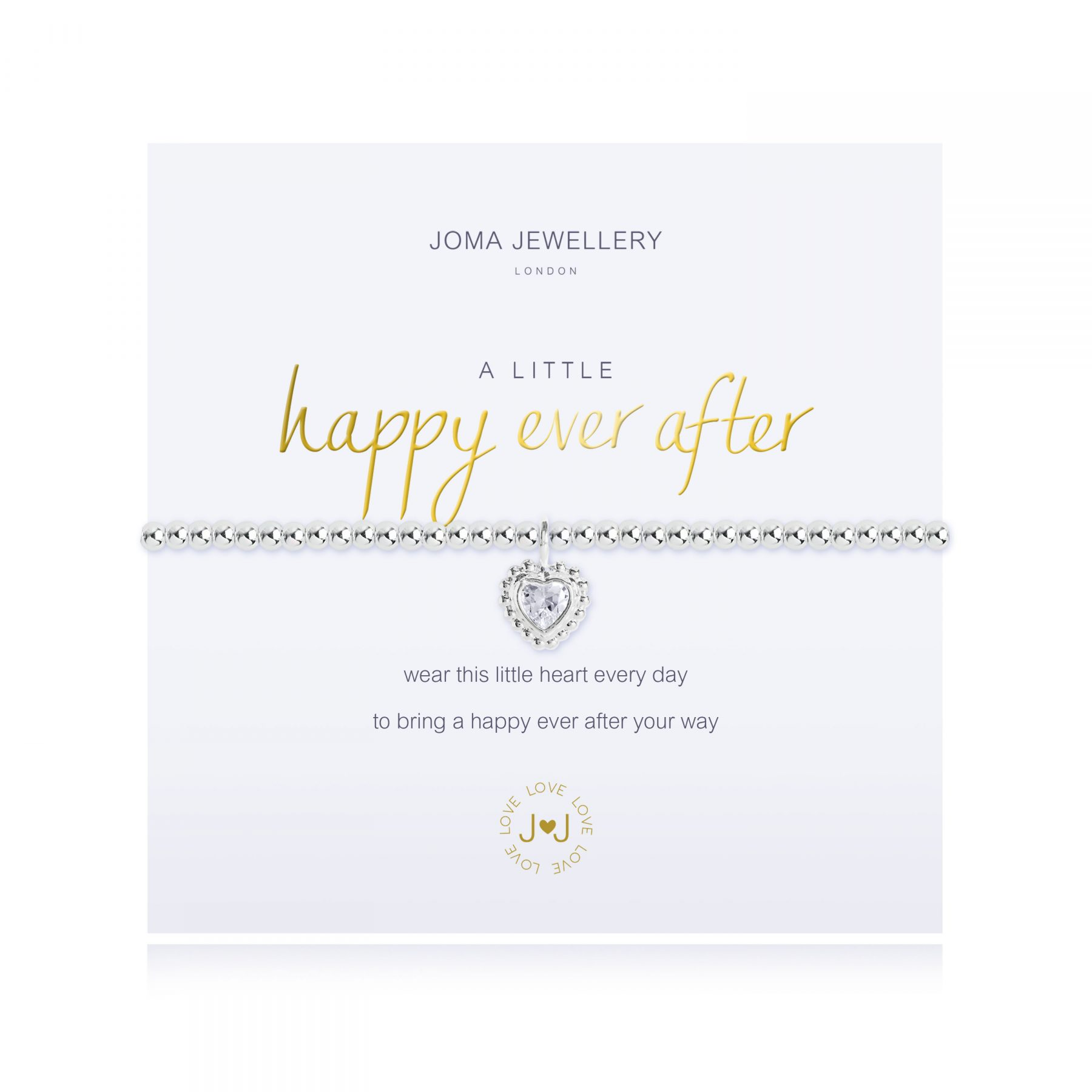 Joma Jewellery A Little Happy Ever After Bracelet