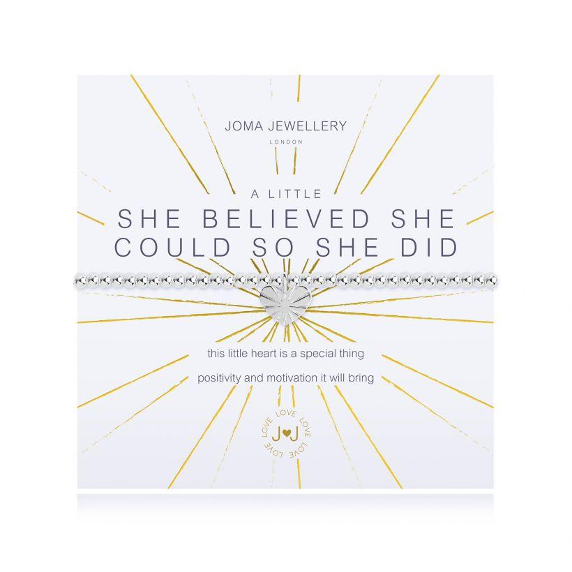A Little – She Believed She Could Bracelet