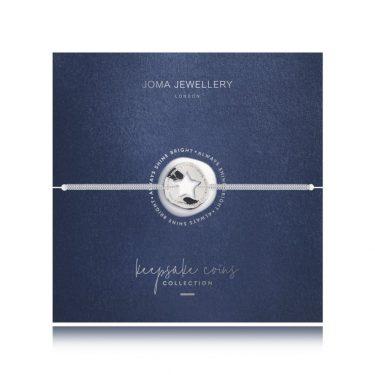 Joma Jewellery Keepsake Coin Bracelet