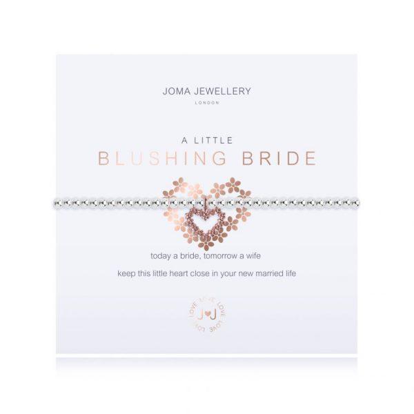 Joma Jewelley A Little Blushing Bride Bracelet