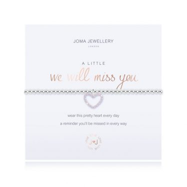 Joma Jewellery A Little We Will Miss You Bracelet