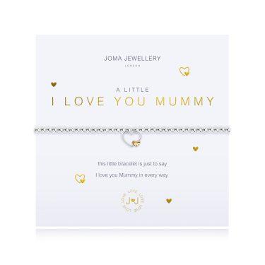 A Little Joma Jewellery I love You Mummy Bracelet