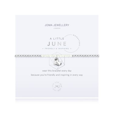 Joma Jewellery A LITTLE BIRTHSTONE JUNE MOONSTONE