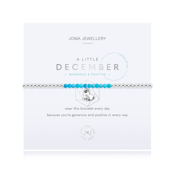 Joma Jewellery A LITTLE BIRTHSTONE DECEMBER TURQUOISE