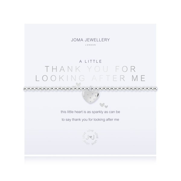 Joma Jewellery- A Little Thank You For Looking After Me Bracelet