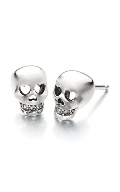 Chamilia Love you to Death- Skull Earrings