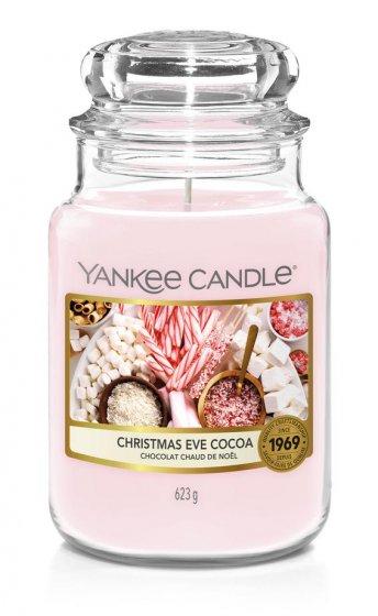 YANKEE CANDLE LARGE JAR CHRISTMAS EVE COCOA
