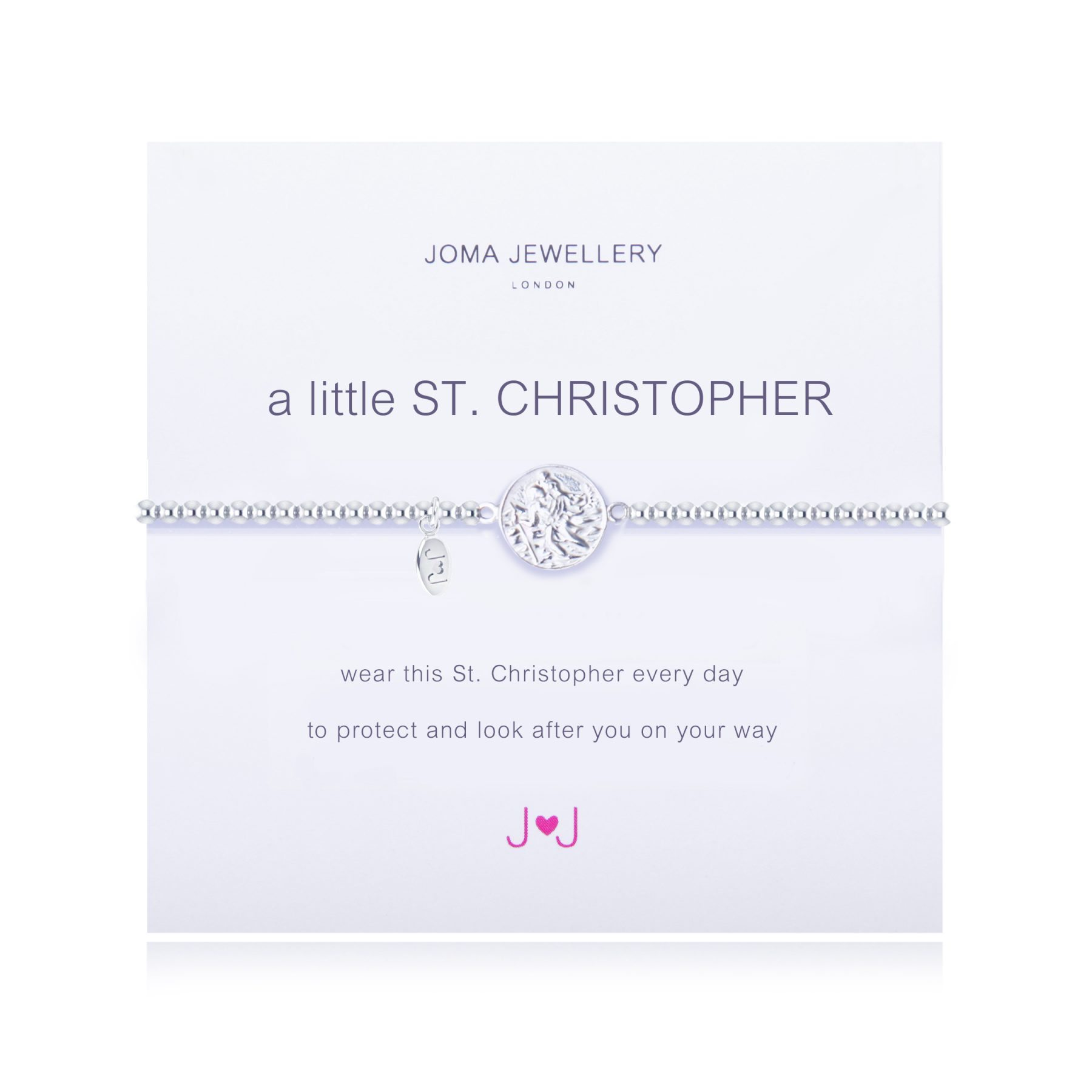 Joma Jewellery A Little ST Christopher Bracelet