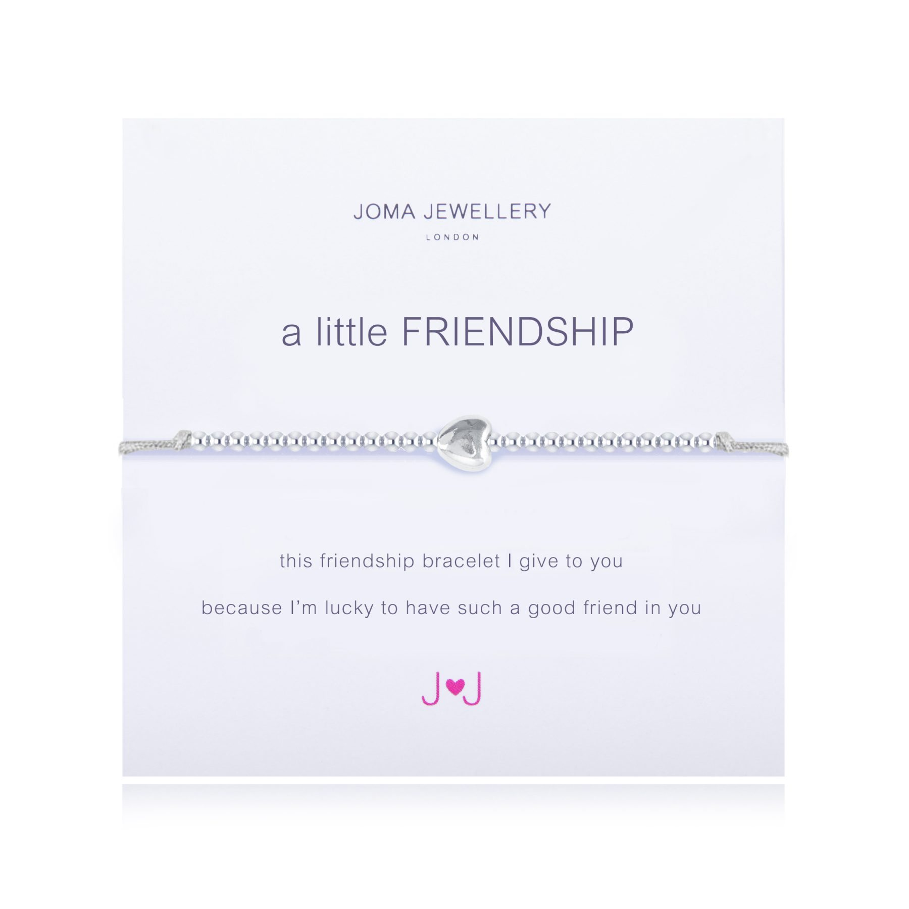 Joma Jewellery A Little Friendship Bracelet Peccadillos