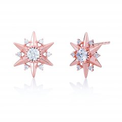 Starburst Stud Earrings – Chamilia Blush