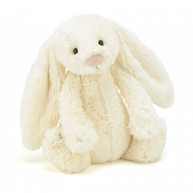 Jellycat Bashful Cream Bunny-Medium