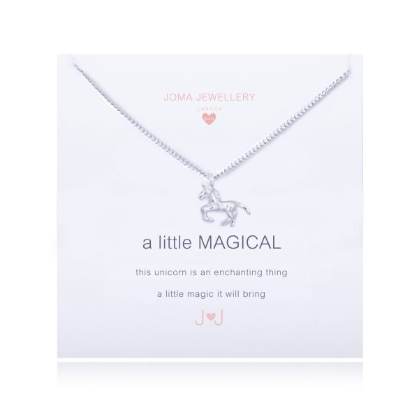 Joma Jewellery A Little Magical Unicorn Children's Pendant