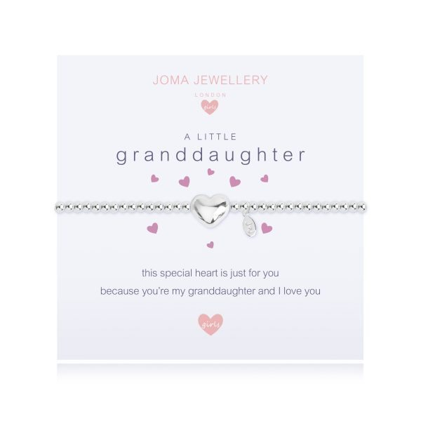 Joma Jewellery A Little Granddaughter Silver Bracelet