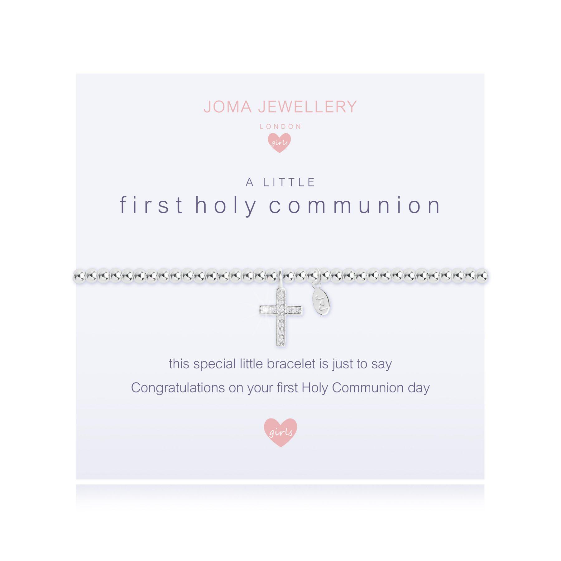 Joma Jewellery A Little Girls First Holy Communion Bracelet