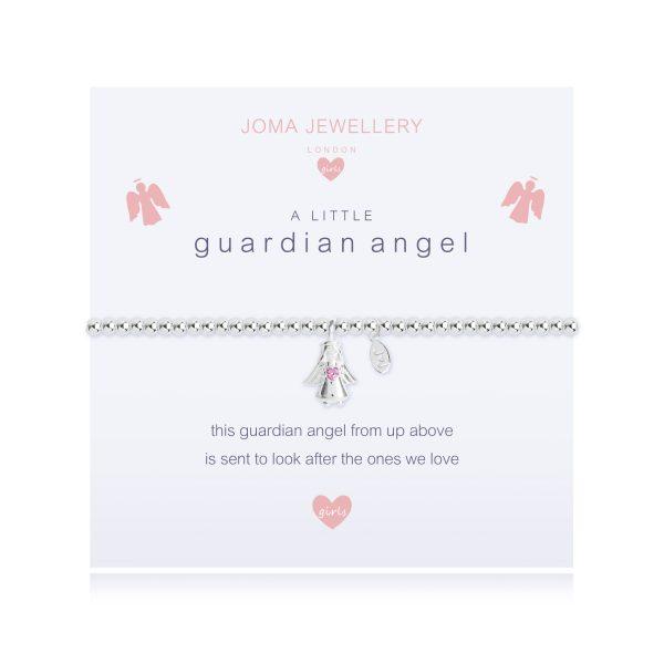 Joma Jewellery A Little Children's Guardian Angel Bracelet