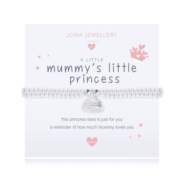 "Joma Jewellery A Little Girls ""Mummy's Little Princess"" Bracelet"