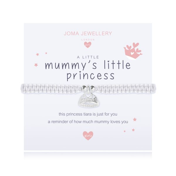 "Joma Jewellery A Little Girls ""Mummy's Little Princess"" Bracelet"