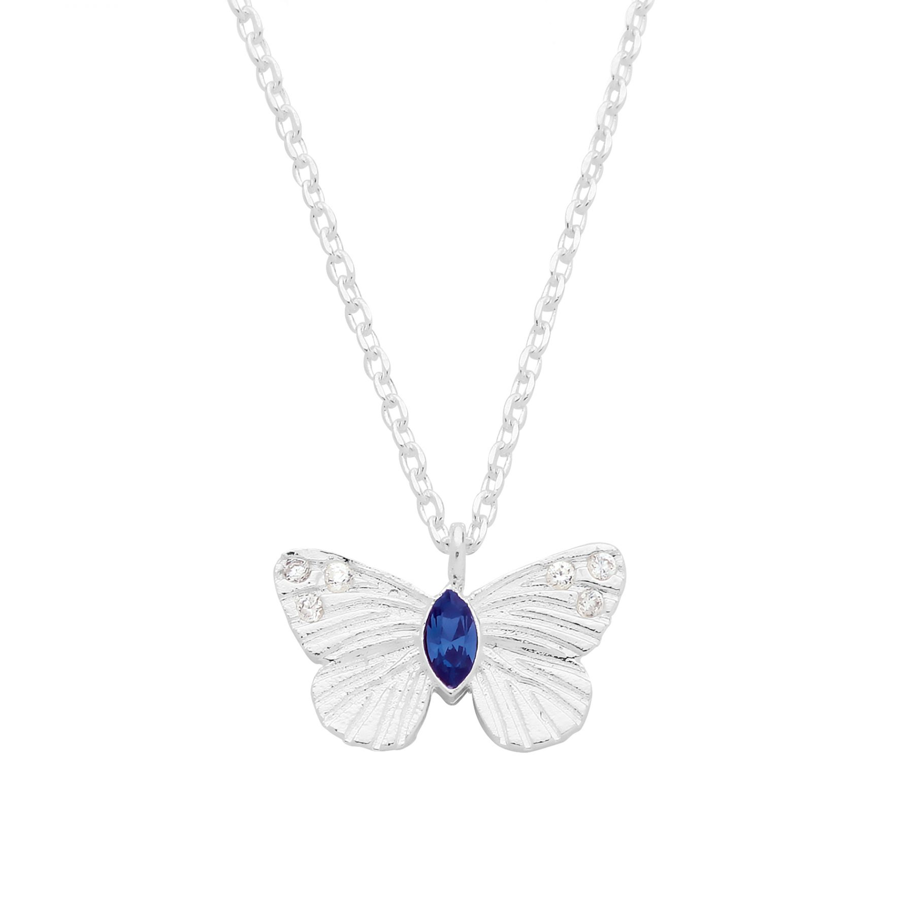 Estella Bartlett Butterfly Necklace