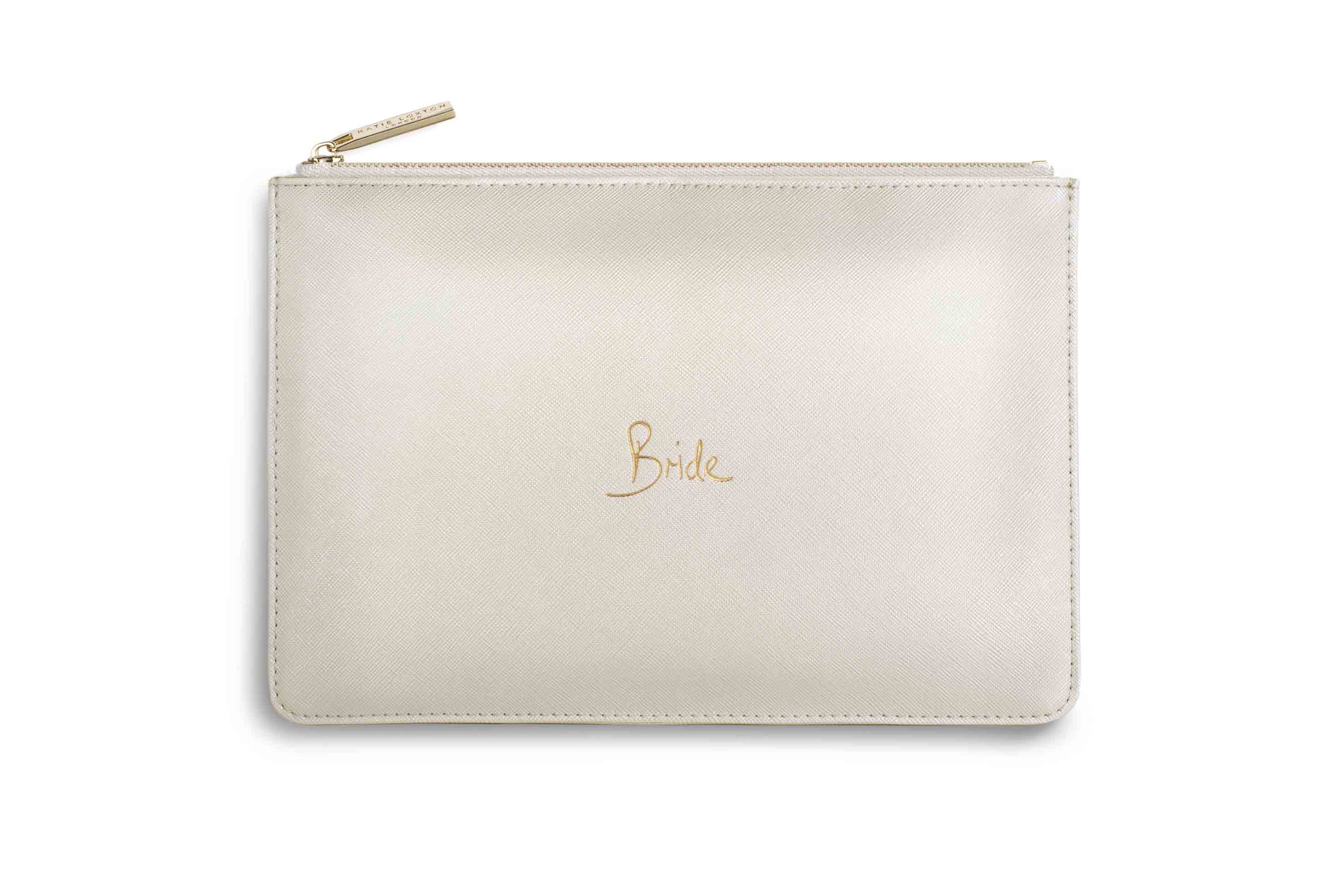 "KATIE LOXTON THE PERFECT POUCH ""BRIDE"""