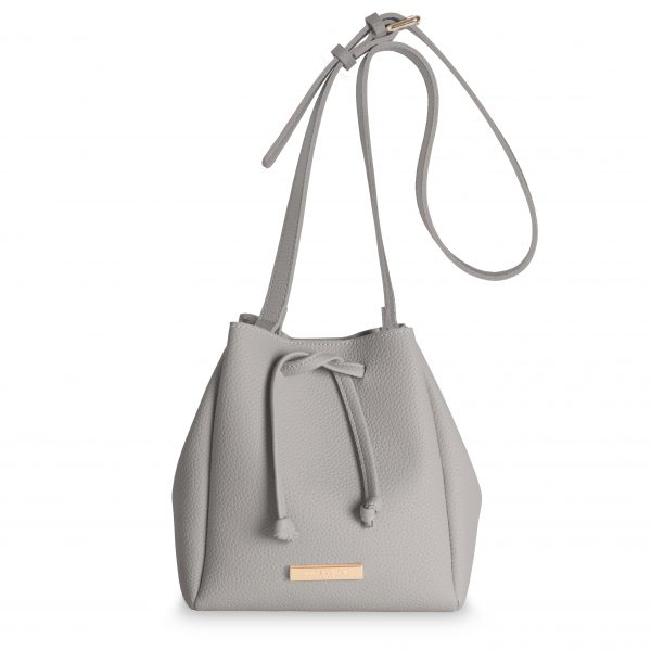Katie Loxton Mini Chloe Bucket Bag – Grey