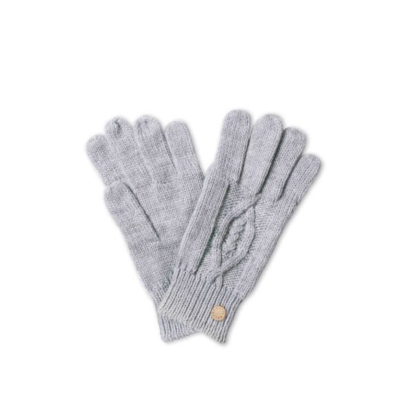 Katie Loxton Cable Knit Gloves- Grey