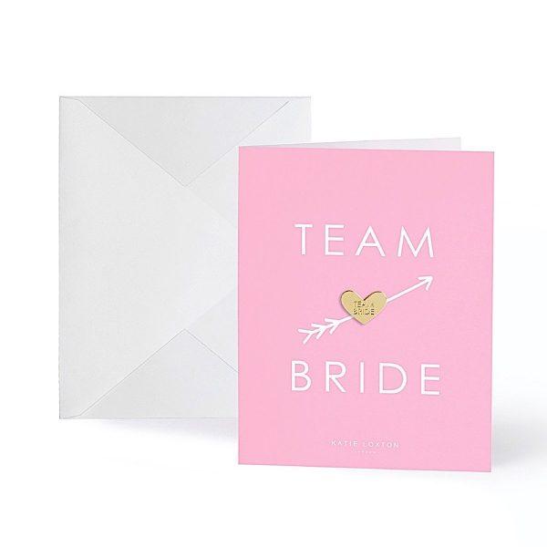 Katie Loxton Greeting Card – Team Bride