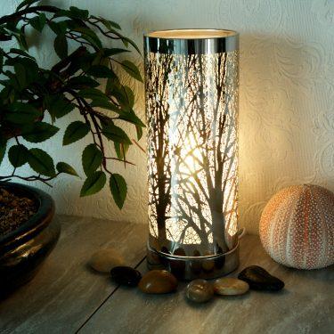 Sense Aroma White Silver Aroma Touch Lamp