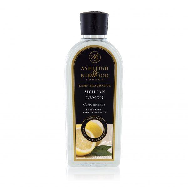 Premium Fragrance Lamp Fragrance 500ml - Sicilian Lemon