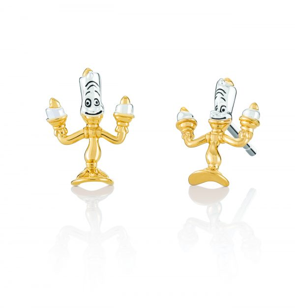 DISNEY LUMIERE POST EARRINGS