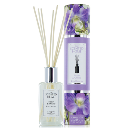 Ashleigh & Burwood Freesia & Orchid Reed Diffuser Set