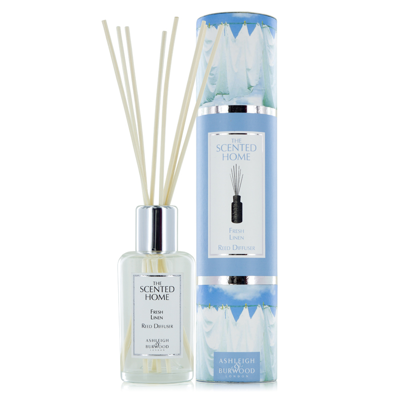 Ashleigh & Burwood Fresh Linen Reed Diffuser Set
