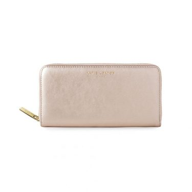 Katie Loxton ALEXA METALLIC ROSE GOLD PURSE